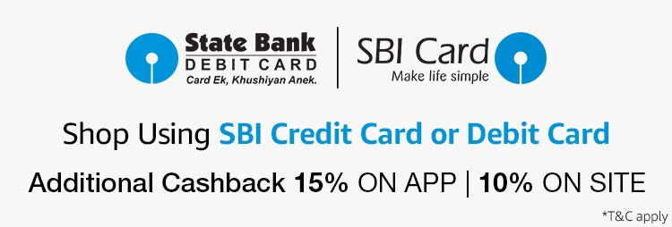 SBI cash back offer