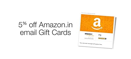 5% Off on Amazon.in Email Gift Cards