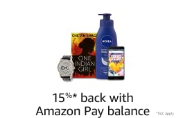 15% cashback using Amazon Pay