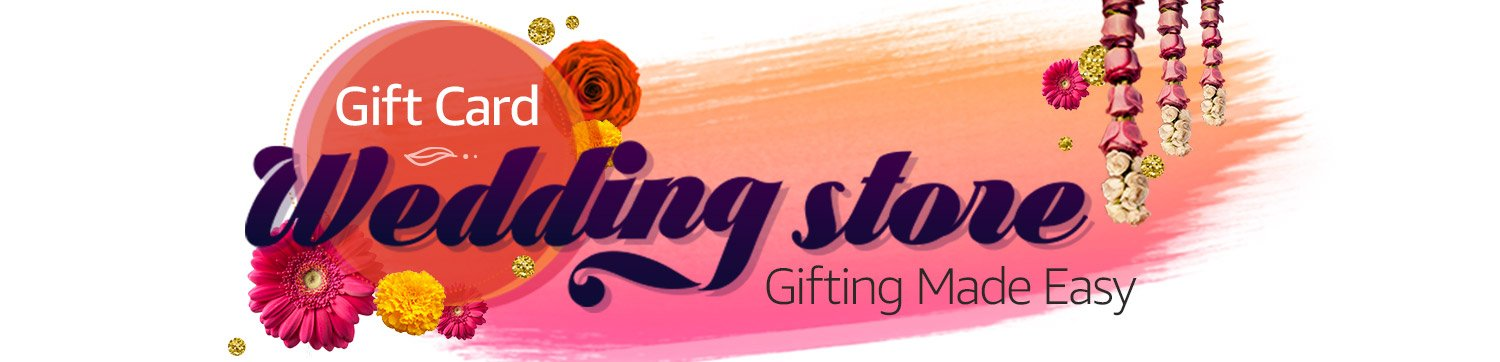 Gift Cards Wedding Store