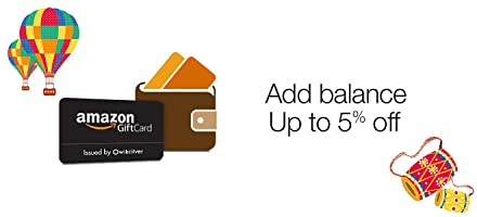 Add Amazon Gift Card Balance worth Rs. 1000 or more & Get Rs 50 off