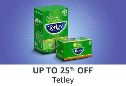 Up to 25% off: Tetley