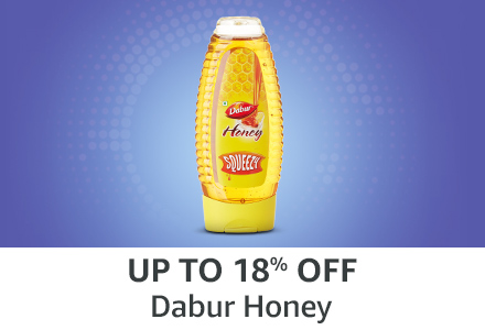 Up to 18% off: Dabur honey