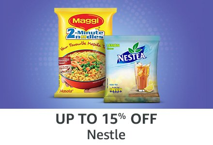 Up to 15% off: Nestle