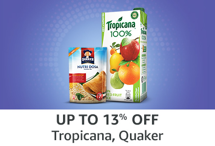 Up to 13% off: Tropicana, Quaker