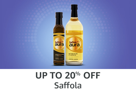 Up to 20% off: Saffola