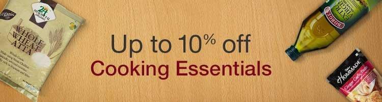 10% off Cooking Essentials