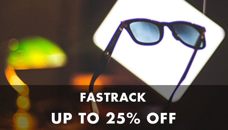 Fastrack Up to 25% off