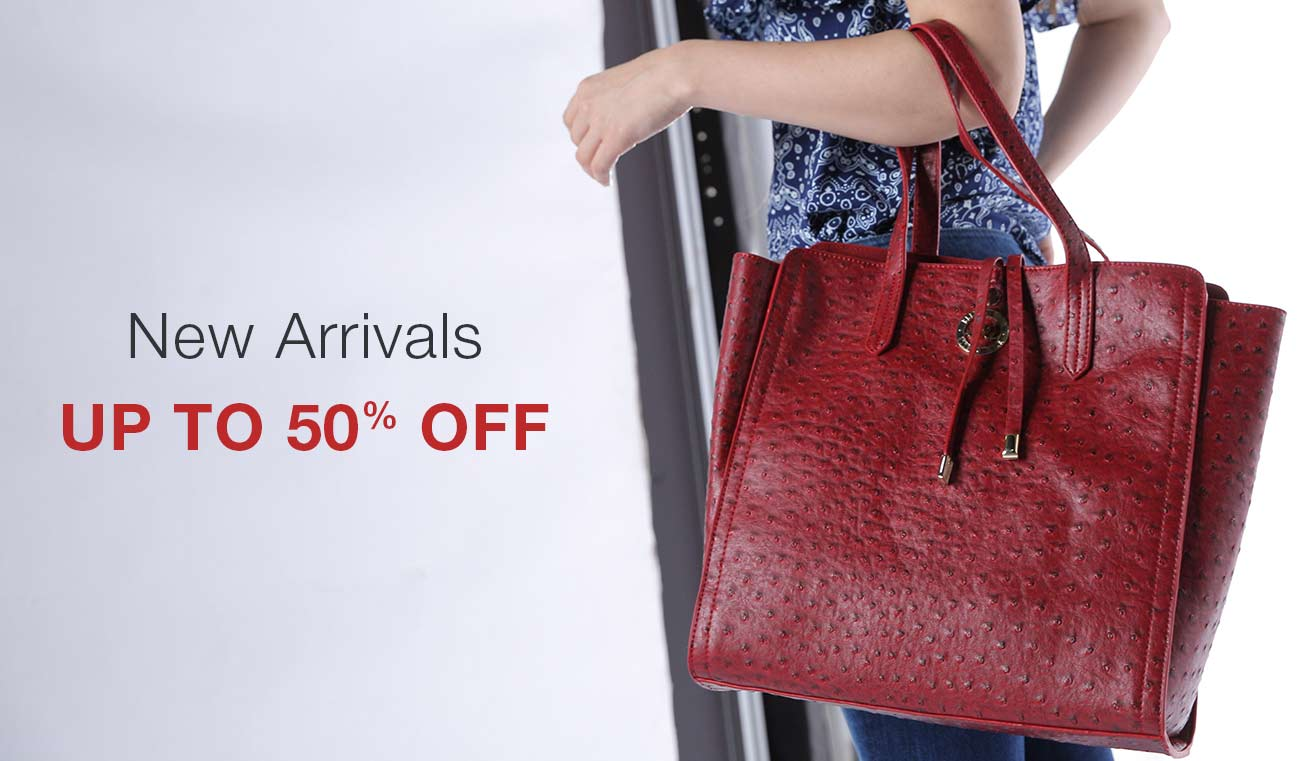 New ArrivalsUp to 50% offHandbags under Rs.1299