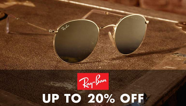 Ray-Ban Up to 20% off