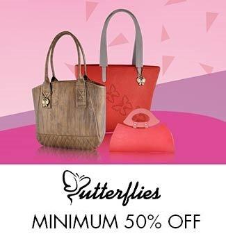Butterflies Minimum 50% off