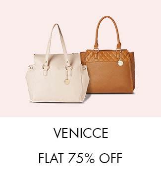 Venicce: Flat 75% off