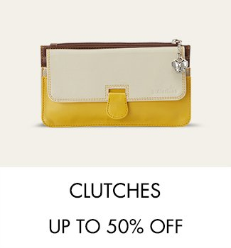 Clutches up to 50% off