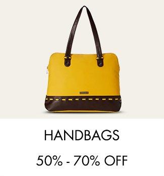 Handbags 50%-70% off