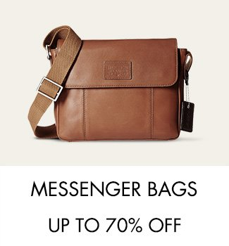 Messenger Bags up to 70% off