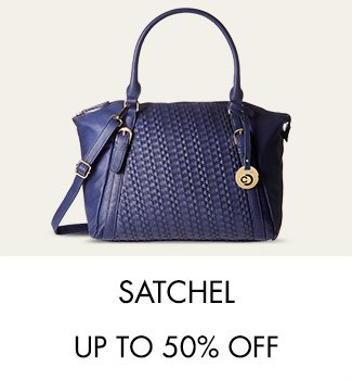 Satchel bags Up to 50% off