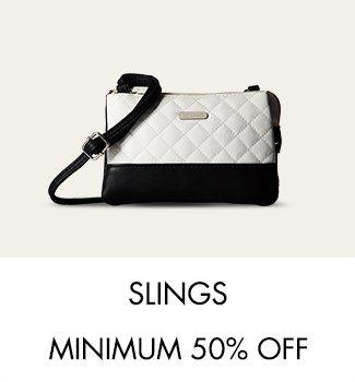 Slings Minimum 50% off