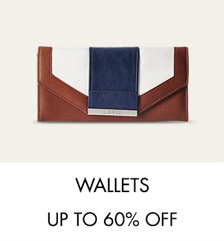 Wallets up to 60% off