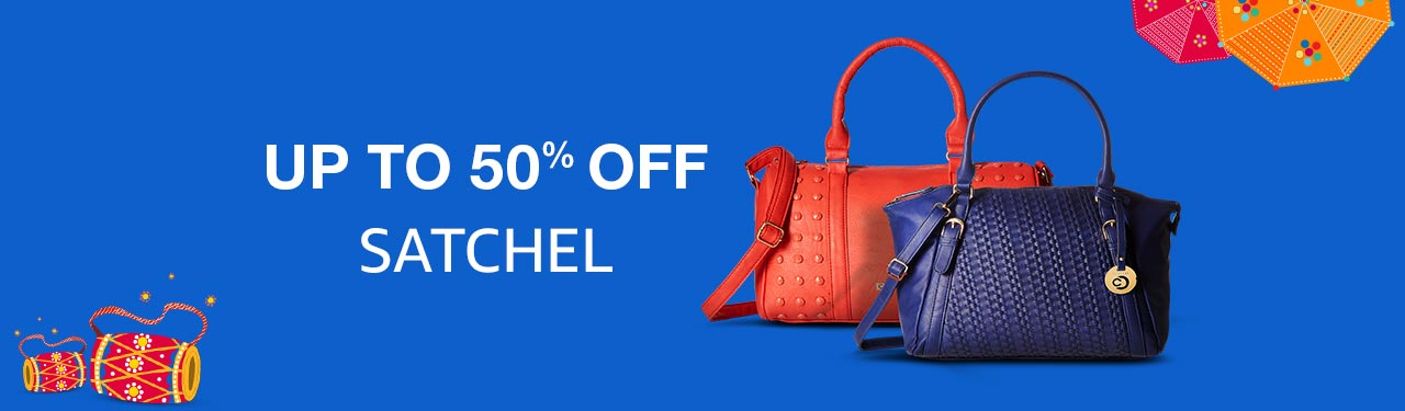 Satchel upto 50% off