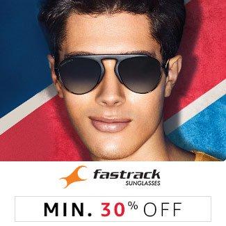 Fastrack: Min 30% off