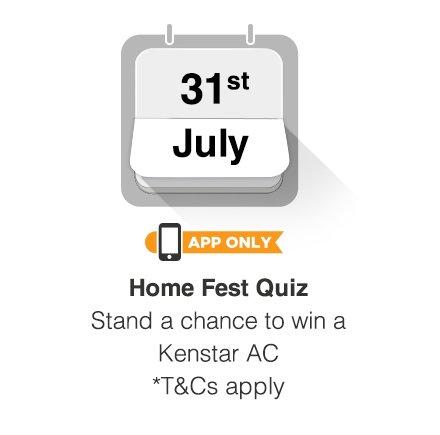 31st July - Home Fest Quiz