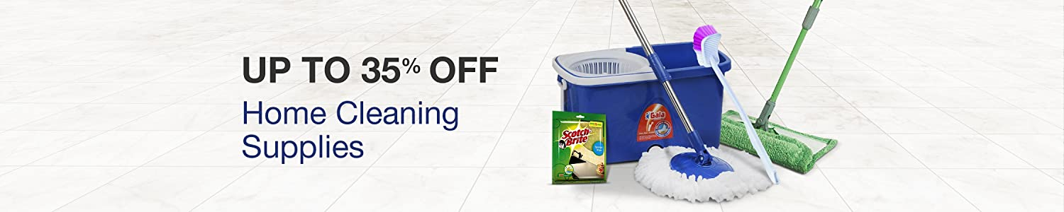 Up to 35% off home cleaning supplies