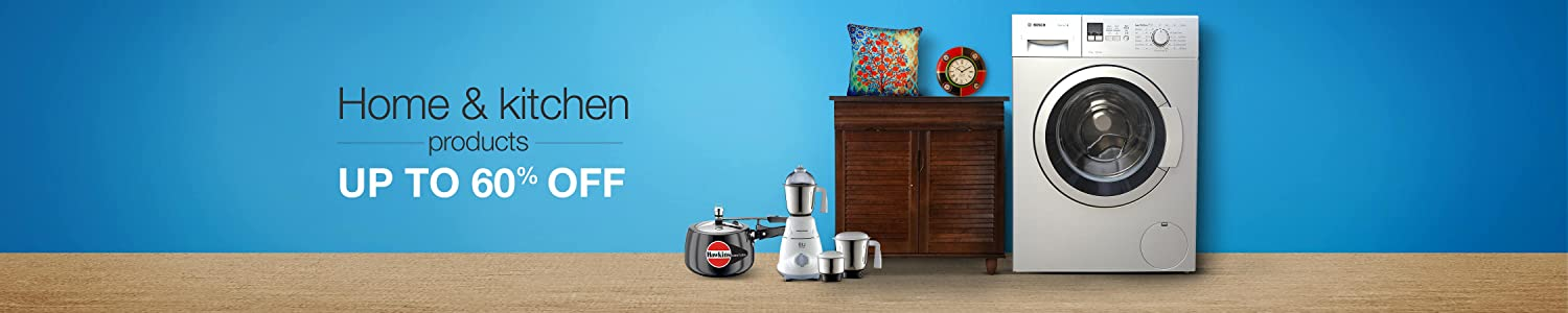 Up to 60% off home and kitchen products