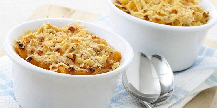 Pasta vegetable casserole
