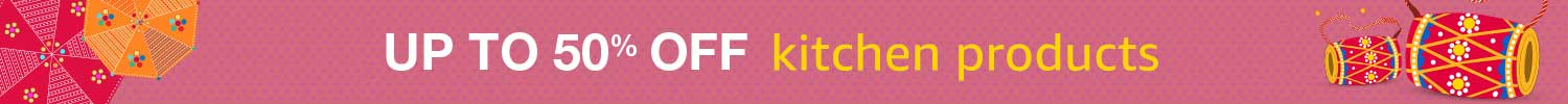 Up to 50% off kitchen products