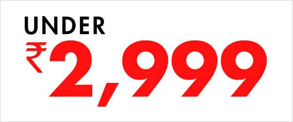under 2999