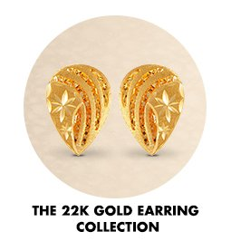 22 K gold Earring Collection