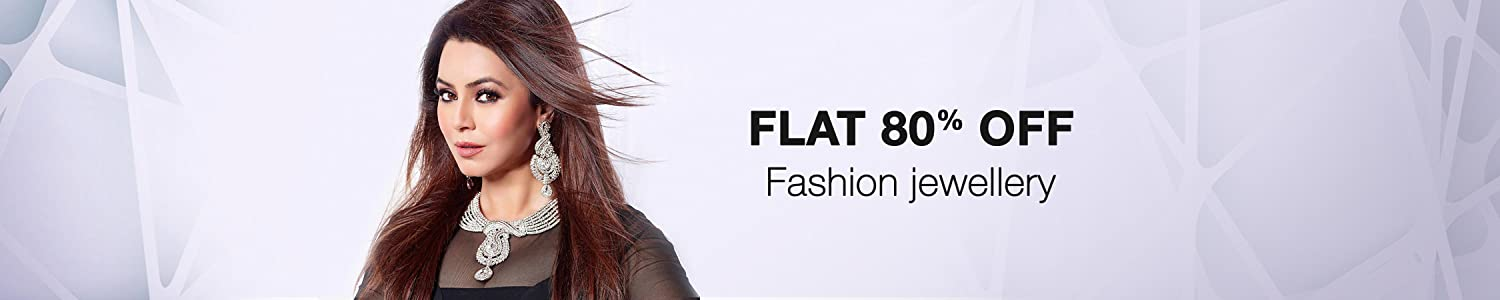 Fashion Jewellery flat 80% off
