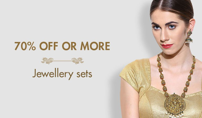 jewellery sets 70% off or more