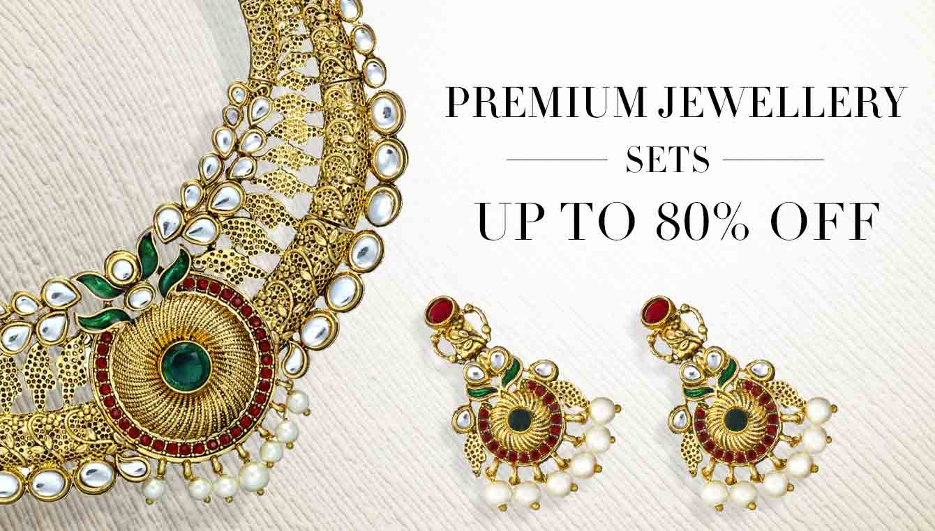 Buy traditional jewellery online at low prices in india for Where to buy jewelry online