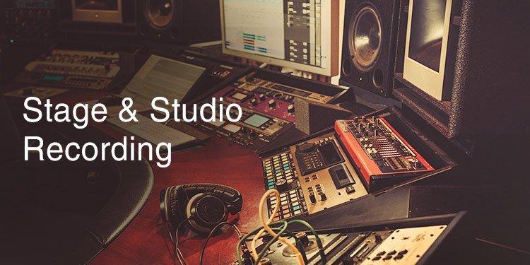 Stage euqipment, studio equipment, recording, video and audio