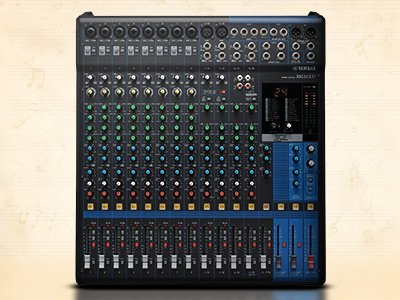 Synths, professional audio, mixers, stage equipment