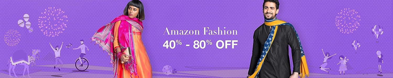 Amazon Fashion 40%-70% off