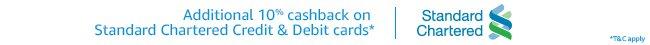 10pct Cashback
