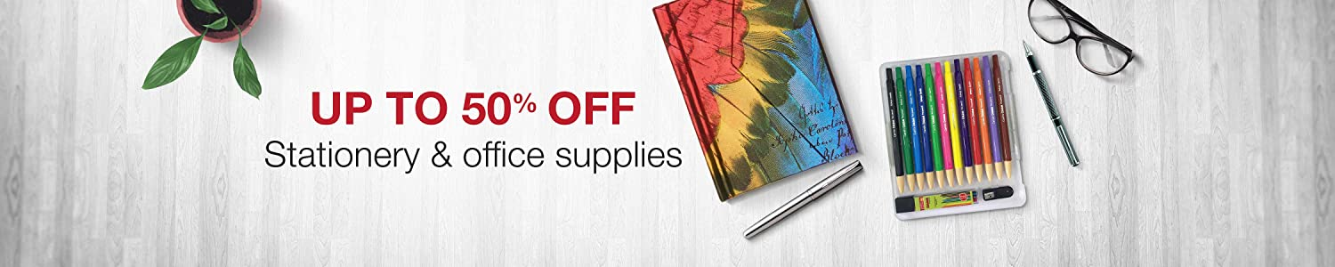 Up to 50% off Stationery
