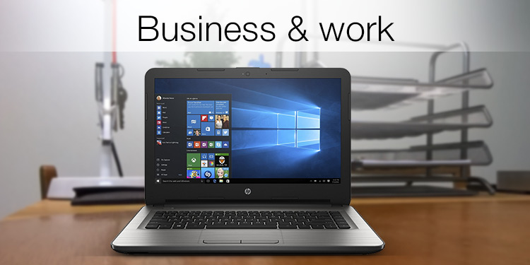 Laptops for business and work