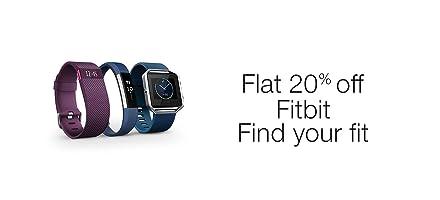 Flat 20% off Fitbit
