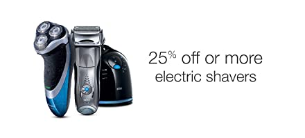 25% off or more Electric Shavers