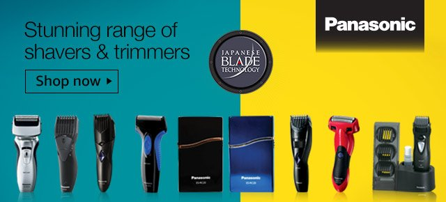 panasonic shavers trimmers