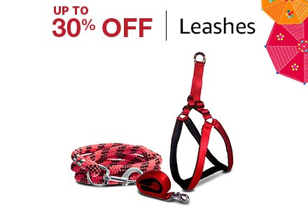 Up to 30% off Leashes