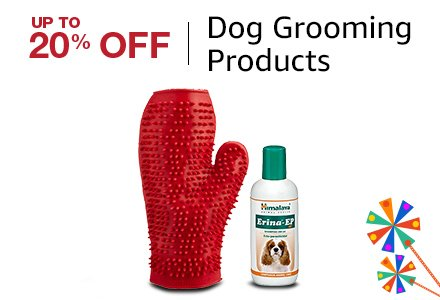 Up to 20% off Dog grooming products
