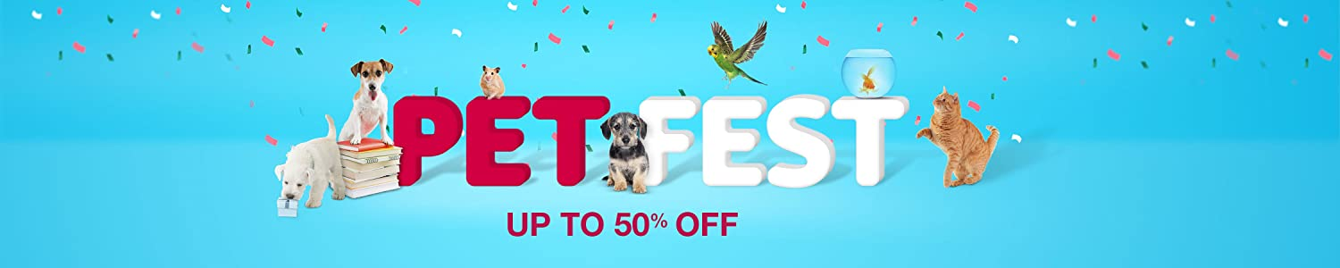 Pet Fest: Up to 50% off