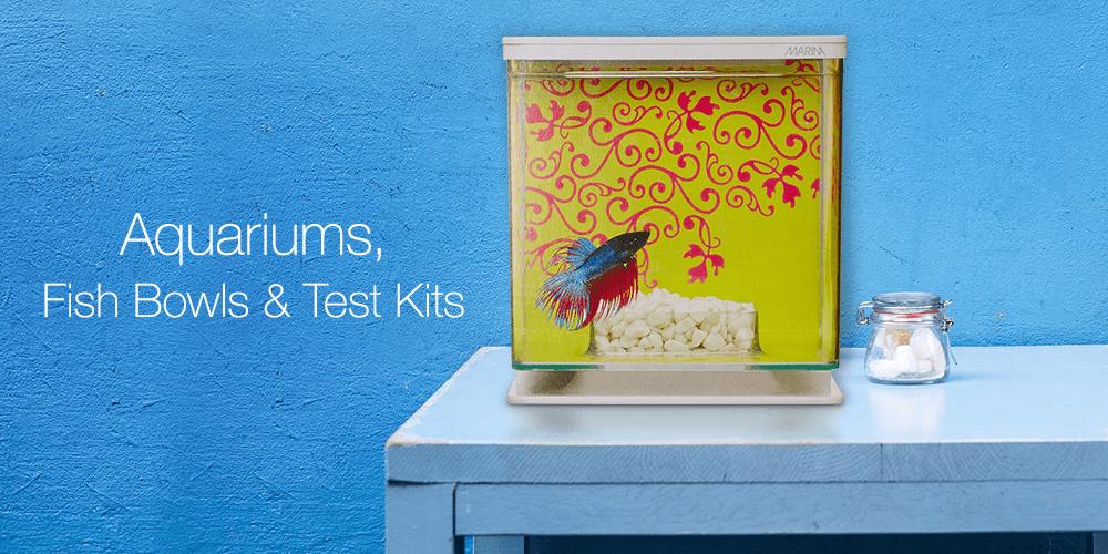Aquariums, Fish Bowls & Test Kits
