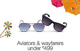 Aviators & wayfarers under Rs.499