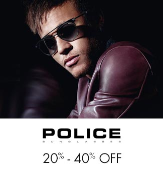 Police 20%-40% off