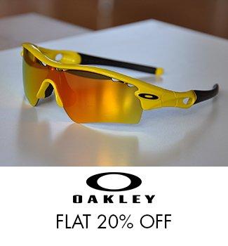 Oakley: Flat 20% Off